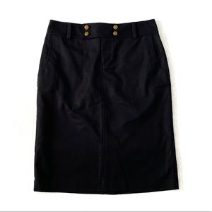 Ralph Lauren Pencil Skirt Black Size 4